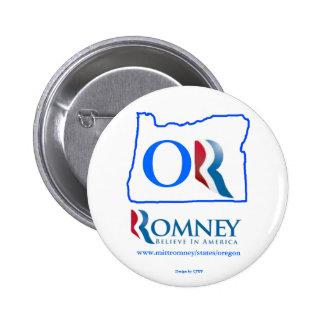 Oregon para el botón 2 de Mitt Romney