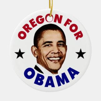 Oregon para Obama Ornaments Para Arbol De Navidad