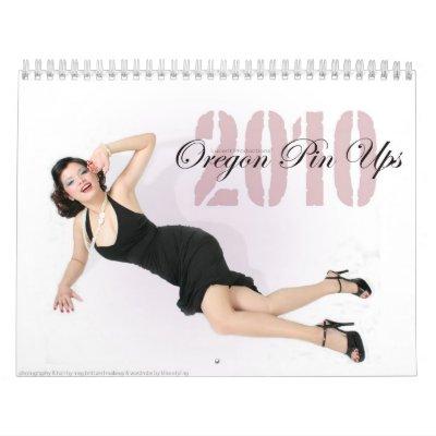 Oregon Pin Ups Wall Calendar