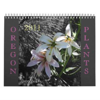 Oregon Plantlife Calendar