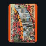 "Oregon, Portland Magnet<br><div class=""desc"">Vintage Travel Post Card Image Magnet Vintage Tichnor Image / Boston Public Library Collection</div>"