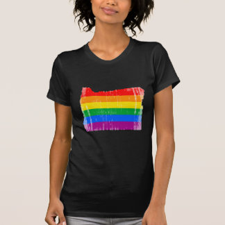 OREGON PRIDE - DISTRESSED -.png T Shirt