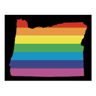 oregon pride. postcard