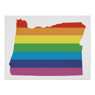 oregon pride. poster