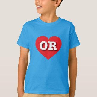 Oregon Red Heart - Big Love T-Shirt
