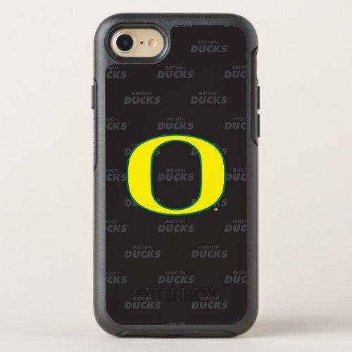 Oregon | Repeating Black Pattern Phone Case