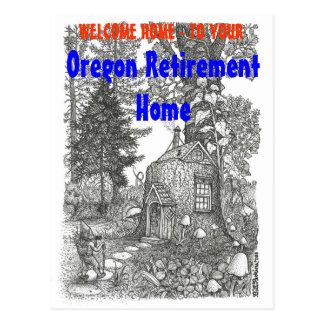 Oregon Retirement Home Postcard