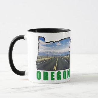 Oregon Right-Hand Ringer Mug