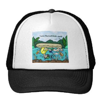 Oregon River Rafting Design Mesh Hat