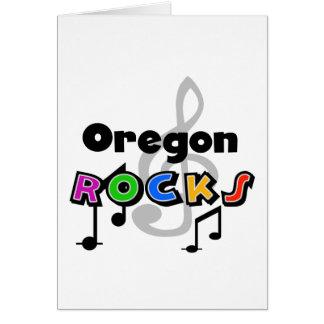 Oregon Rocks Card