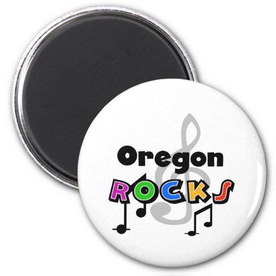 Oregon Rocks Magnet