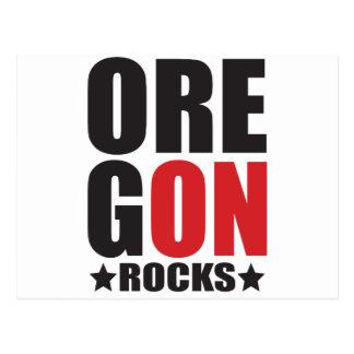 Oregon Rocks! State Spirit Gifts and Apparel Postcard
