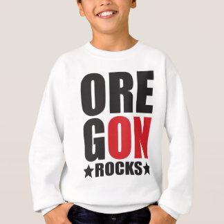 Oregon Rocks! State Spirit Gifts and Apparel Sweatshirt