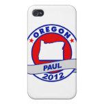 Oregon Ron Paul iPhone 4 Funda