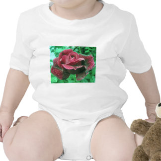 Oregon rose covered in raindrops tees