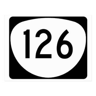 Oregon Route 126 Postcard
