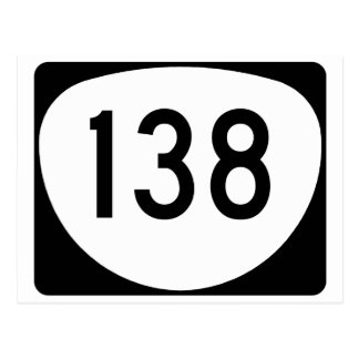 Oregon Route 138 Postcard