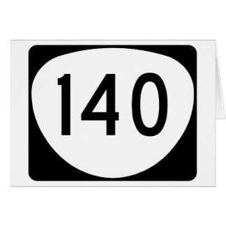 Oregon Route 140 Card