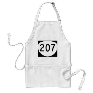 Oregon Route 207 Adult Apron