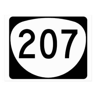 Oregon Route 207 Postcard