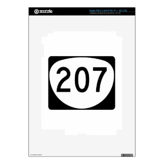 Oregon Route 207 Skins For iPad 3
