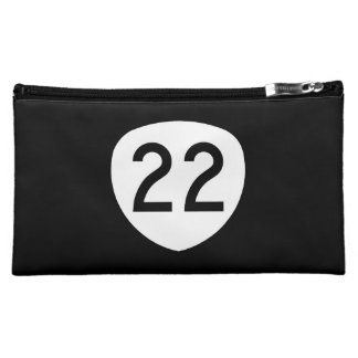 Oregon Route 22 Makeup Bag