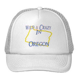 Oregon - salvaje y loco gorras de camionero