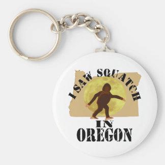Oregon Sasquatch Bigfoot Spotter - I Saw Him Key Chains