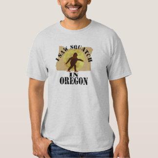 Oregon Sasquatch Bigfoot Spotter - I Saw Him T-Shirt