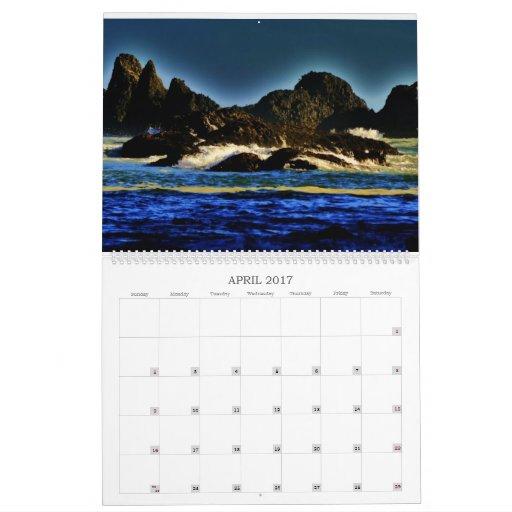 Oregon Scenery Calendar