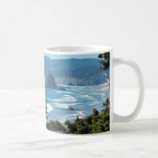 Oregon Seascape Photo Coffee Mug