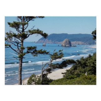 Oregon Seascape Poster