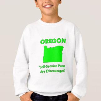 Oregon - Self-Service Pumps Are Discouraged Sweatshirt