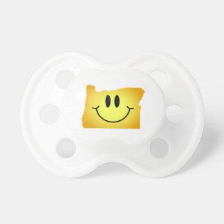 Oregon Smiley Face BooginHead Pacifier