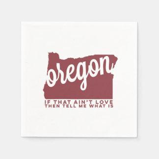 oregon | song lyrics | apple red paper napkin
