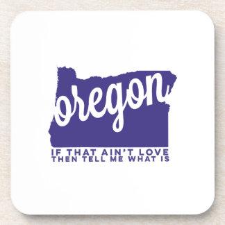 oregon | song lyrics | violet drink coaster