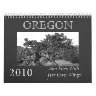 Oregon Spirit Calendar