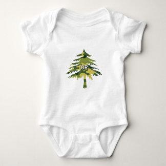 Oregon Spruce Baby Bodysuit