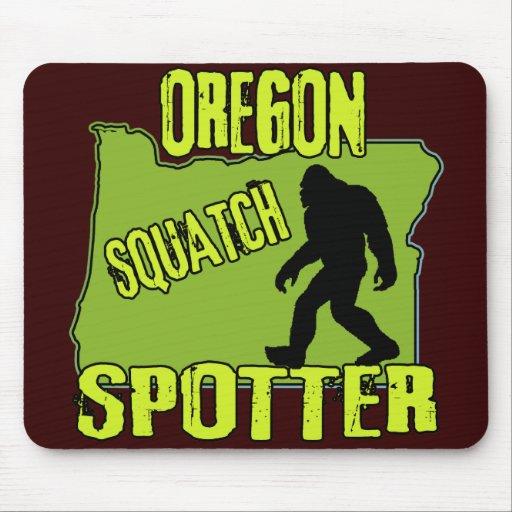 Oregon Squatch Spotter Mouse Pad