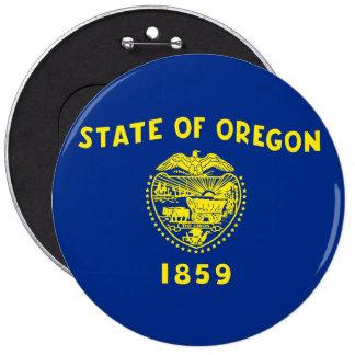 Oregon Stae FLag Pinback Button