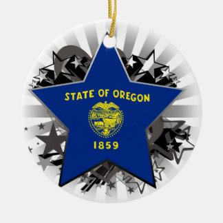 Oregon Star Christmas Tree Ornaments