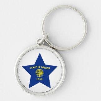 Oregon Star Key Chain