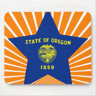 Oregon Star Mouse Pad