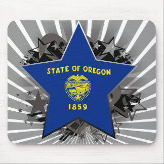 Oregon Star Mouse Pads