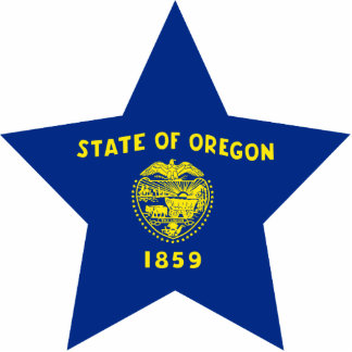 Oregon Star Photo Cut Out