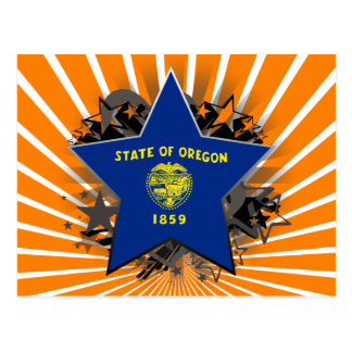 Oregon Star Postcard