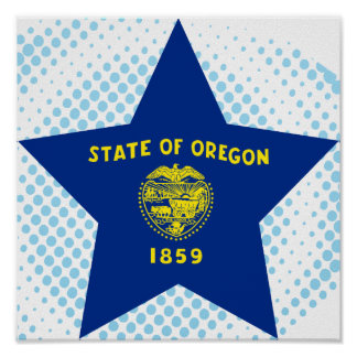 Oregon Star Print