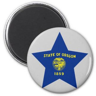 Oregon Star Refrigerator Magnet