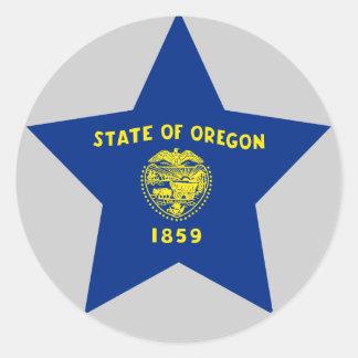 Oregon Star Stickers
