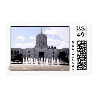 Oregon State Capital Postage